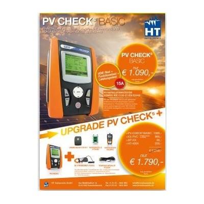HTI-PV CHECKs Basic, HT-Instruments