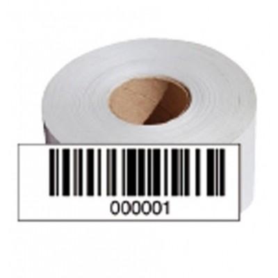 Barcodeetiketten lfd. Nr. 7001-8000