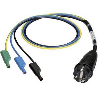 BENNING Schutzkontaktstecker/ shock-proof plug - 4 mm Stecker/ plug