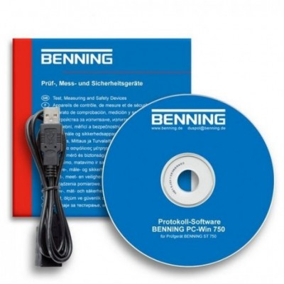 BENNING Software PC-WIN 750