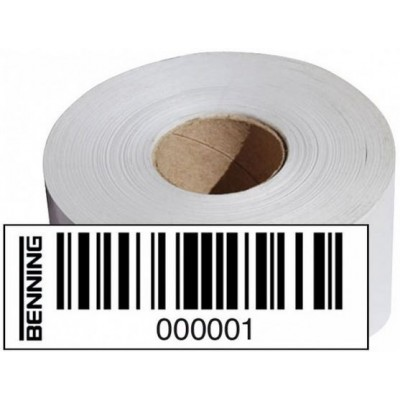 BENNING Barcodeetiketten/ barcode labels (Nr. 8001 - 9000)