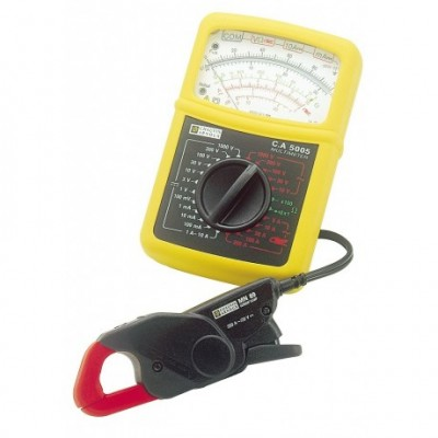 CHAUVIN-ARNOUX C.A 5005 Analog-Multimeter inkl. Minizange MN 89